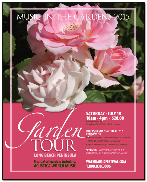 Music in the Gardens Poster