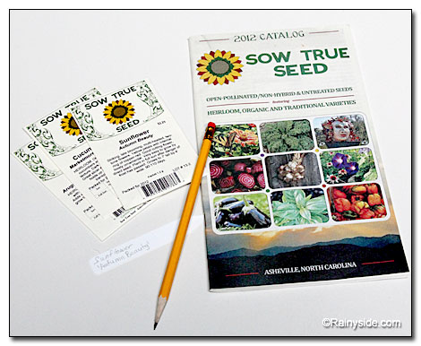 Seed and Catalog