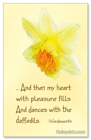 Wordsworth's Daffodils