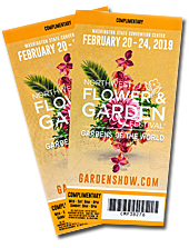 Northwest Flower and Garden Show Tickets